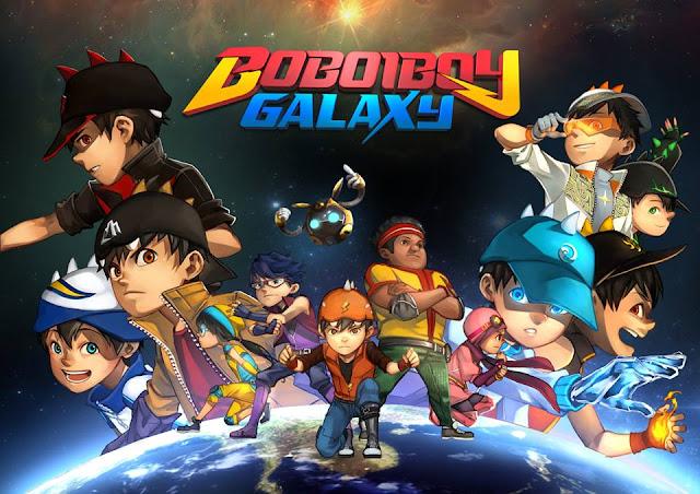 Musim Terbaru Boboiboy 2016  Boboiboy Galaxy