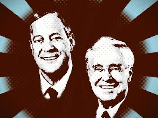 Charles dan David Koch, Kakak Beradik Miliuner yang Dermawan