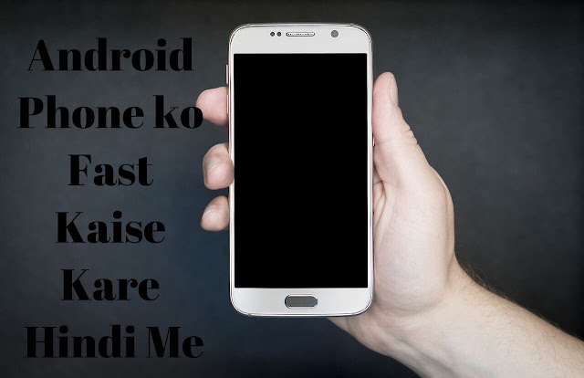 men with android phone