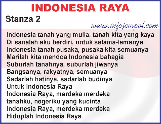 Image Result For Lirik Lagu Indonesia Raya Versi Lengkap