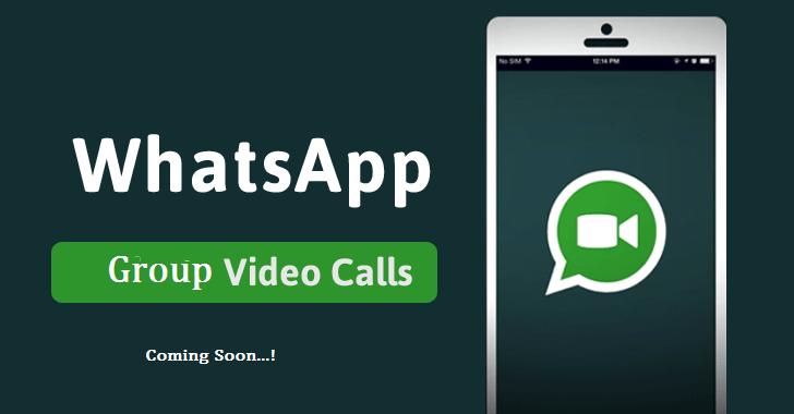 WhatsApp Group Voice, Video Calls Coming Soon. - HackWeser