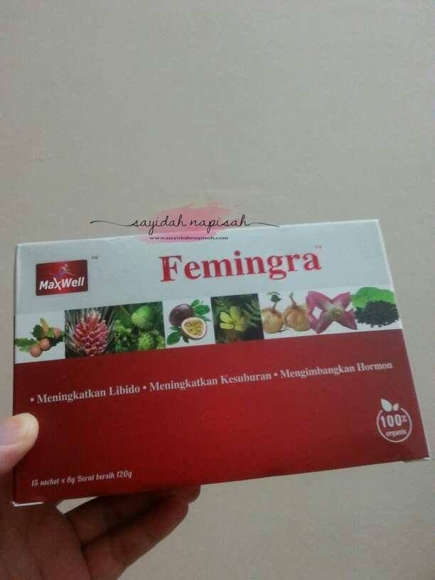 Femingra Mengimbangkan Hormon & Meningkatkan Libido dan Kesuburan Wanita