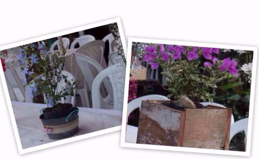 Decoración fiesta rústica, bohemia (boho), ecológica,low cost, jaulas decoradas, lamparas con botellas, reciclaje, reciclados, muebles antiguos, atrapasueños, fiesta exterior, fiesta, exteriores, campestre, aire libre