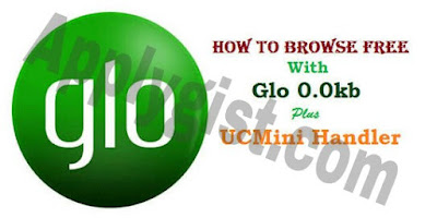 Still Blazing!!! How To Set Up And Download With Glo 0.0KB Using UC Mini Handler