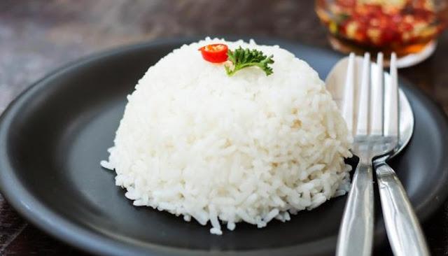 Inilah Enam Manfaat Kesehatan Konsumsi Nasi Putih Setiap Hari
