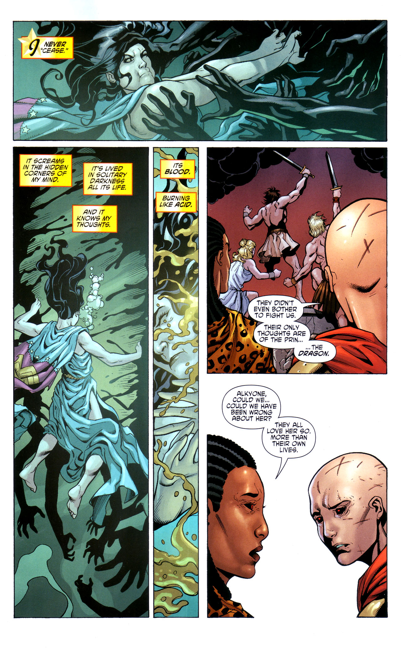 Read online Wonder Woman (2006) comic -  Issue #39 - 11
