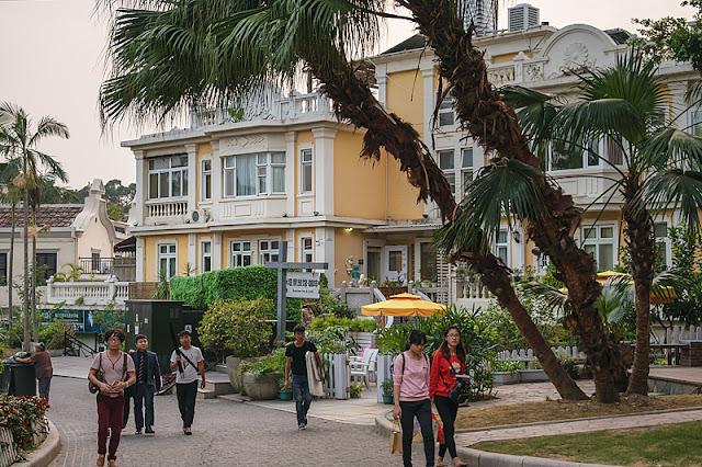 Rue sur l'île de Gulangyu