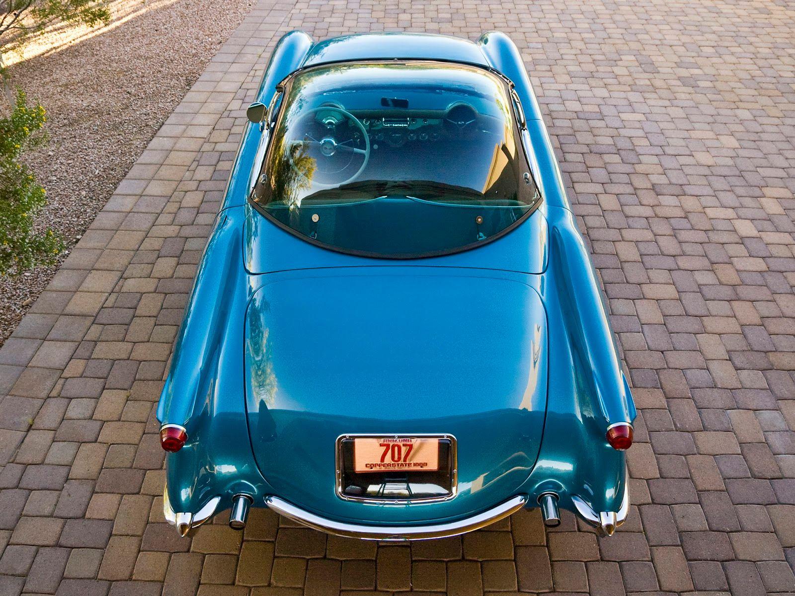 Fab Wheels Digest Fwd 1954 Chevrolet Corvette Generation 1 Chevy Stingray Thursday July 21 2011