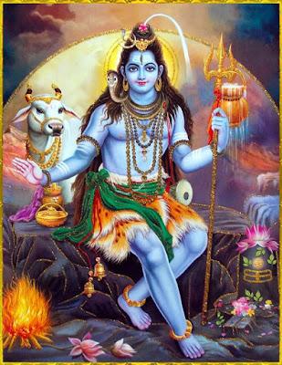 Bir şeyi yok etmek istediği zaman üçüncü gözünü açar ve yok eder.Aşk Tanrısı Kama ile Brahma'yı üçüncü gözüyle yakmıştır.