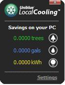 Uniblue Local Cooling - solusi menghemat energy listrik pada pc/laptop