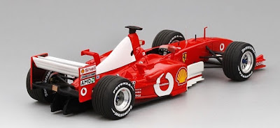 F1 model cars