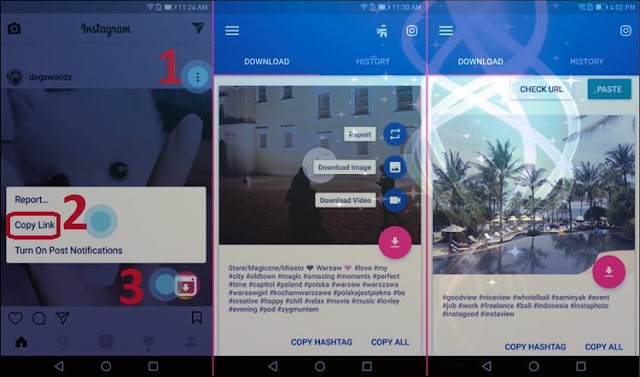 تحميل فيديو انستقرام instagram video downloader