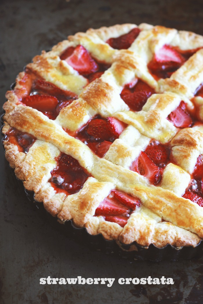 Strawberry Crostata