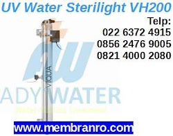 Harga Lampu UV Water Sterilizer VH200 Pembunuh Bakteri di Jakarta Depok Surabaya Karawang ADY WATER