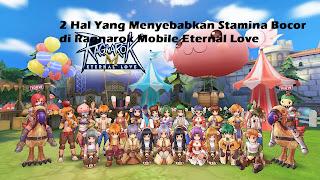 2 Hal Yang Membuat Stamina Menjadi Boros di Ragnarok Mobile Eternal Love