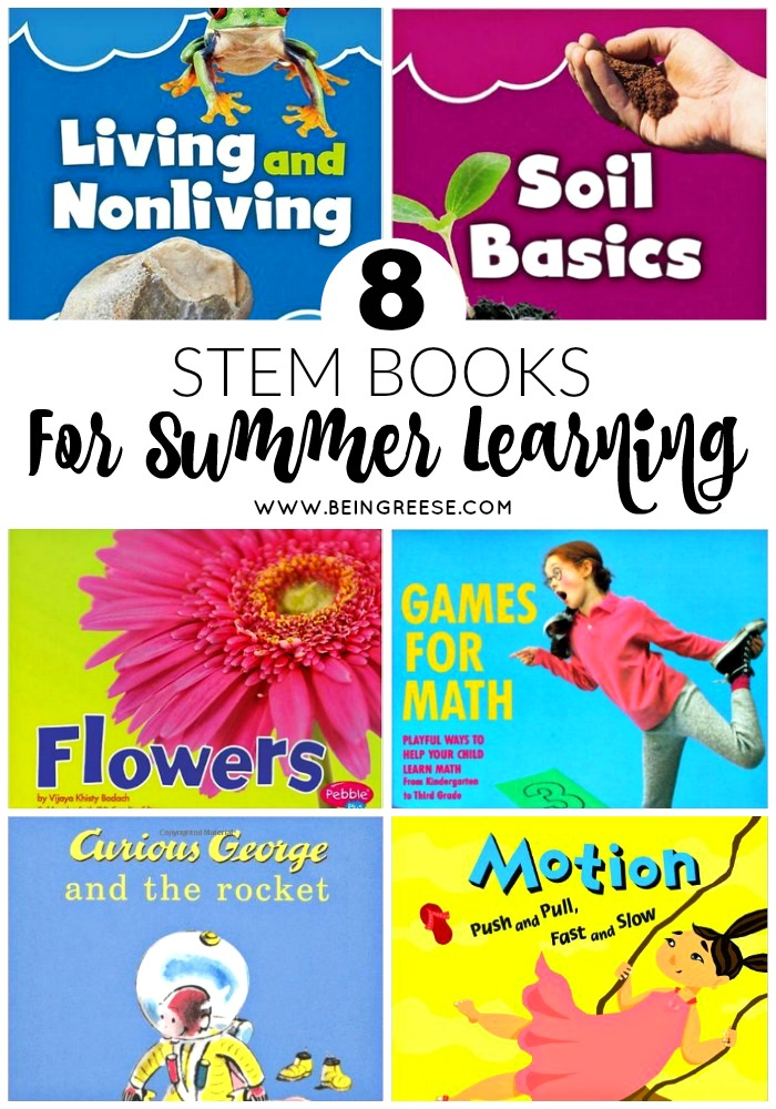 Fun and educational STEM books your children will LOVE!