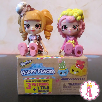 Mini Shoppis Shopkins dolls