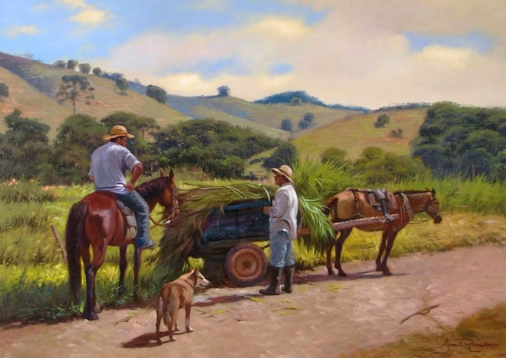 obras de pintores de paisajes