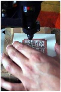 Proses pengeboran PCB