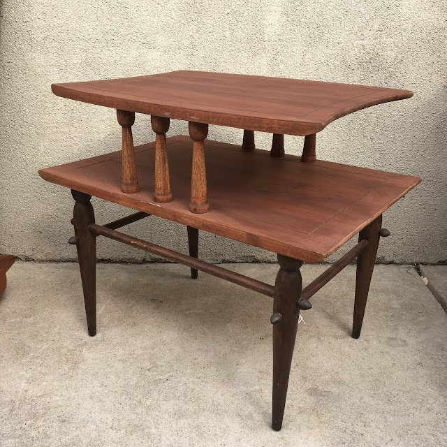Mid-Century End Table - $45