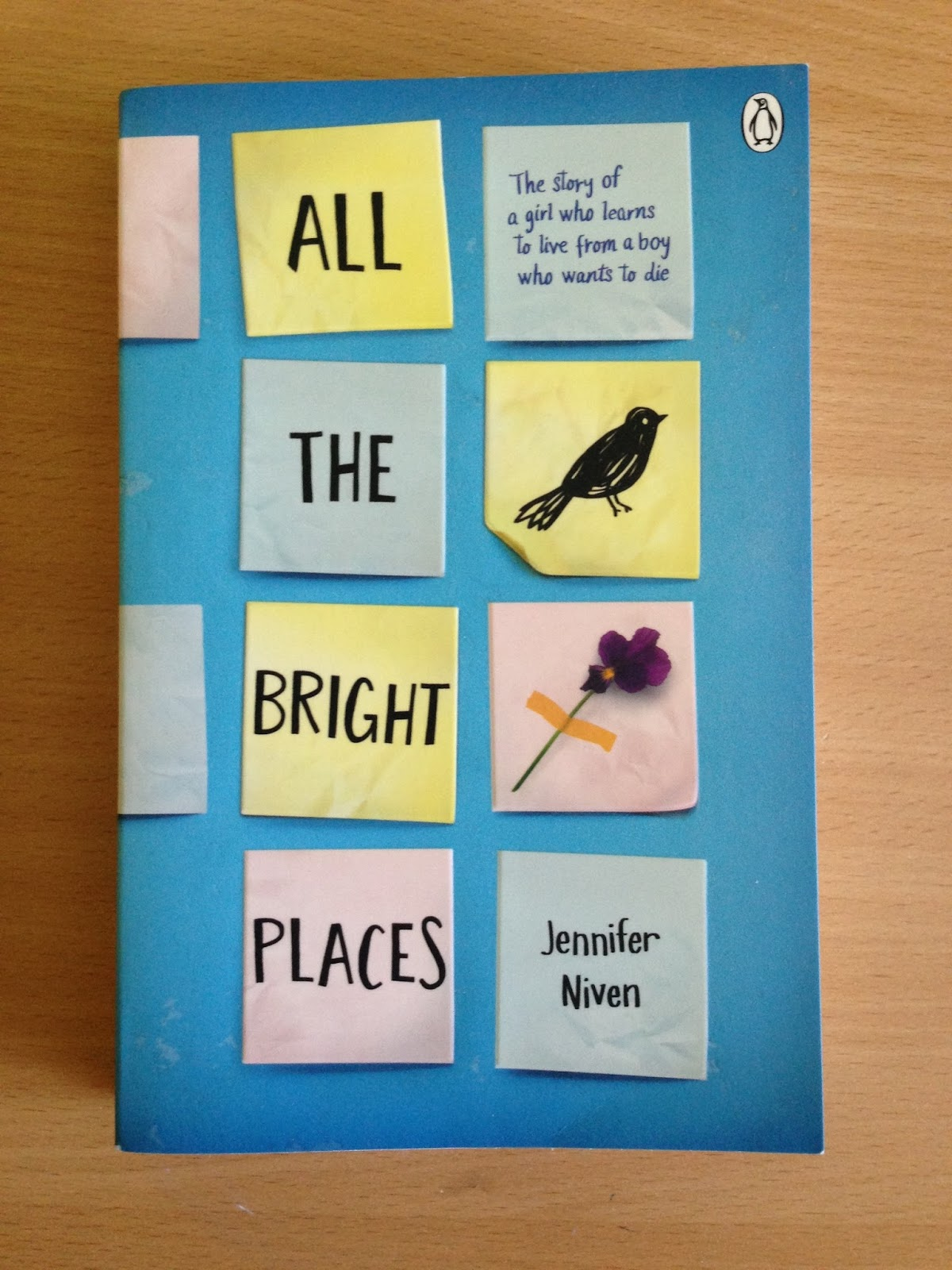 �all the bright places� by jennifer niven