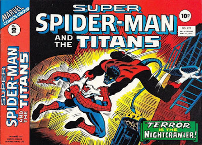 Super Spider-Man and the Titans #222, Nightcrawler