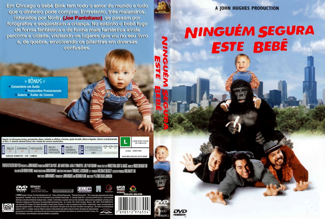 Capa DVD Ninguém Segura Este Bebê