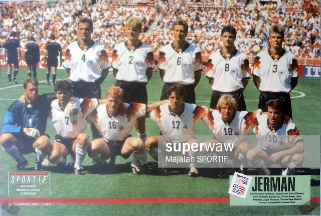 GERMANY DEUTSCHLAND WORLD CUP USA 94