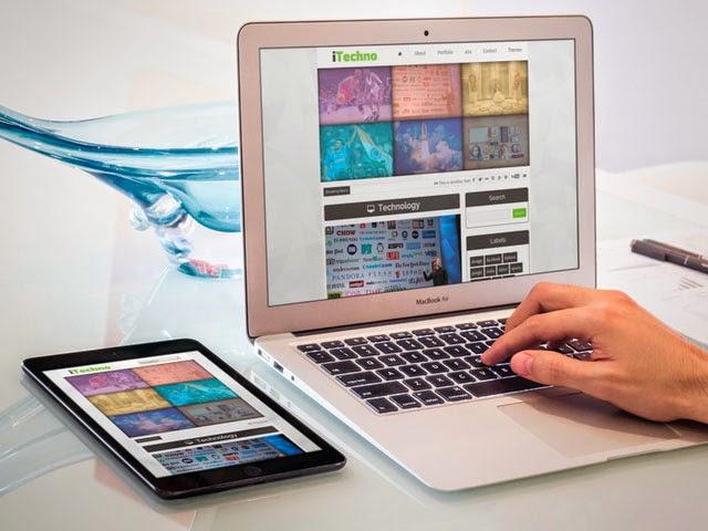 iTechno Free Blogger Template