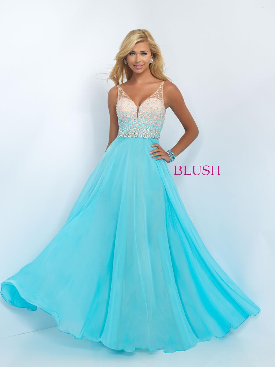 Exclusive New Party Wear Blush Prom Dress Designs 2016-17 For Girls ...