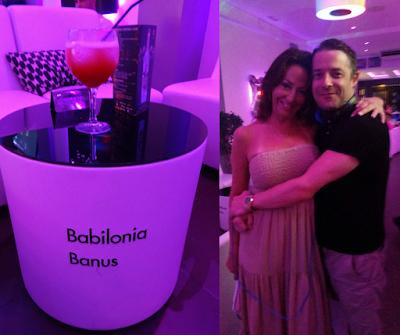 Babilonia Banus bar in Puerto Banus Spain