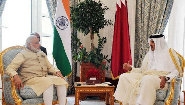 भारत-कतर के बीच सात महत्वपूर्ण समझौते