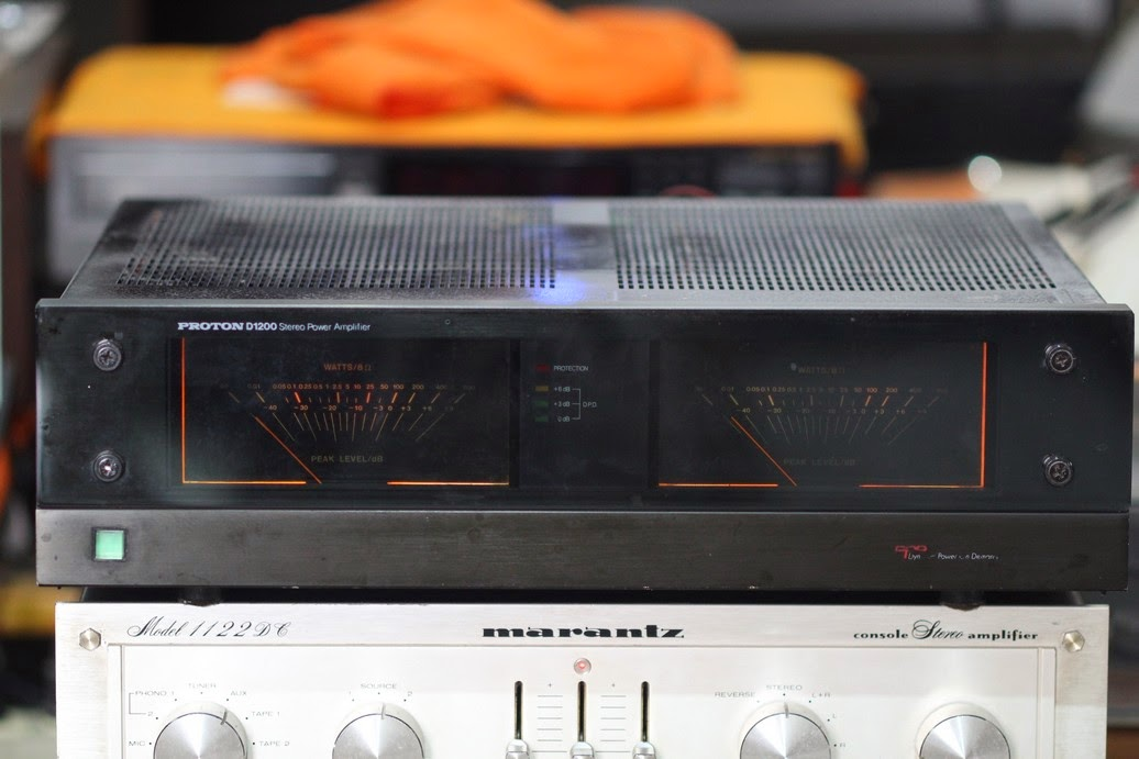 audio2nd: PROTON D1200 POWER AMPLIFIER (TERJUAL)