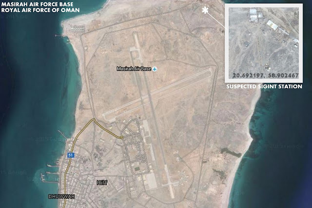 Suspected SIGINT Station at  Masirah Air Force Base
