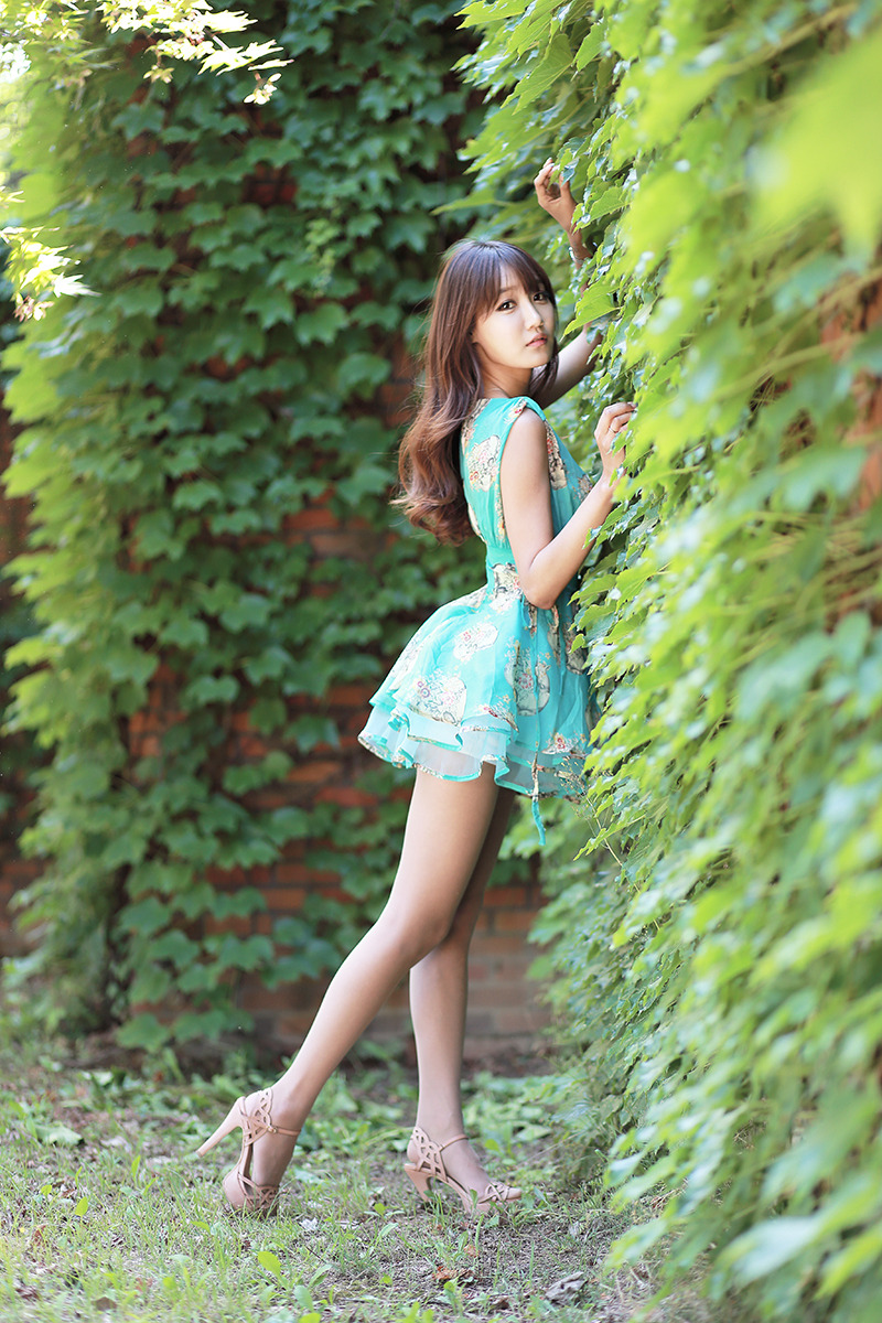 Jo In Young Outdoor  Cute Girl - Asian Girl-7364
