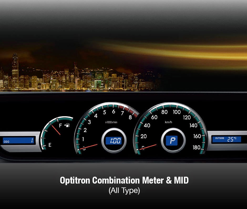 optitron combination meter
