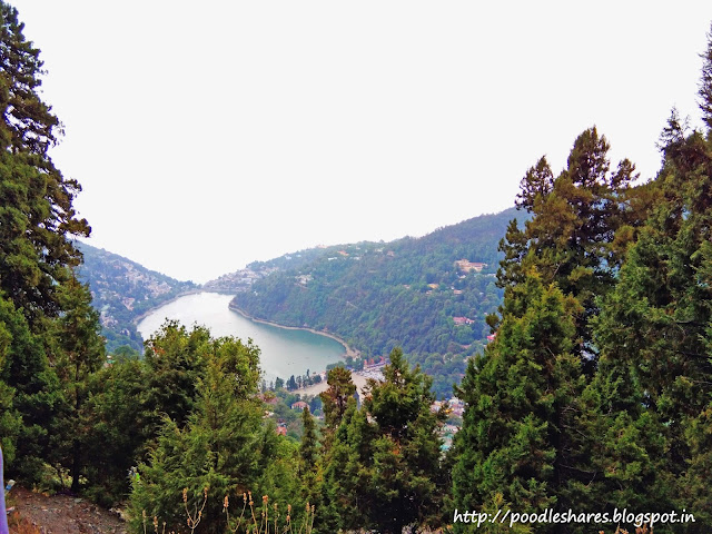 Nainital View from up-hills