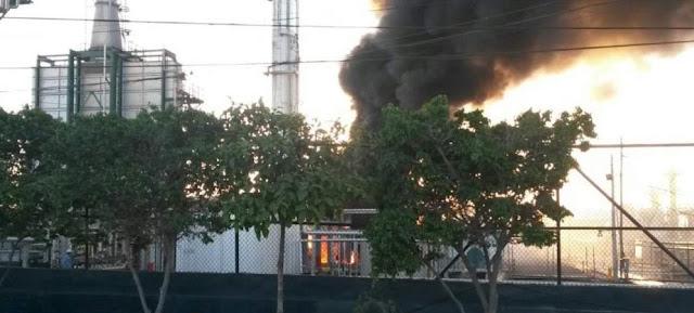 incendio refineria libertad