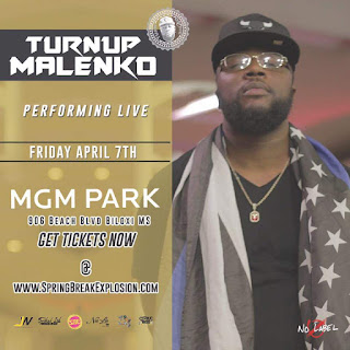 Turnup-Malenko-Spring-Break-Explosion-Flyer