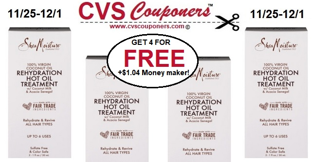 http://www.cvscouponers.com/2018/11/FREE-Shea-Moisture-Hot-Oil-Treatments-CVS.html