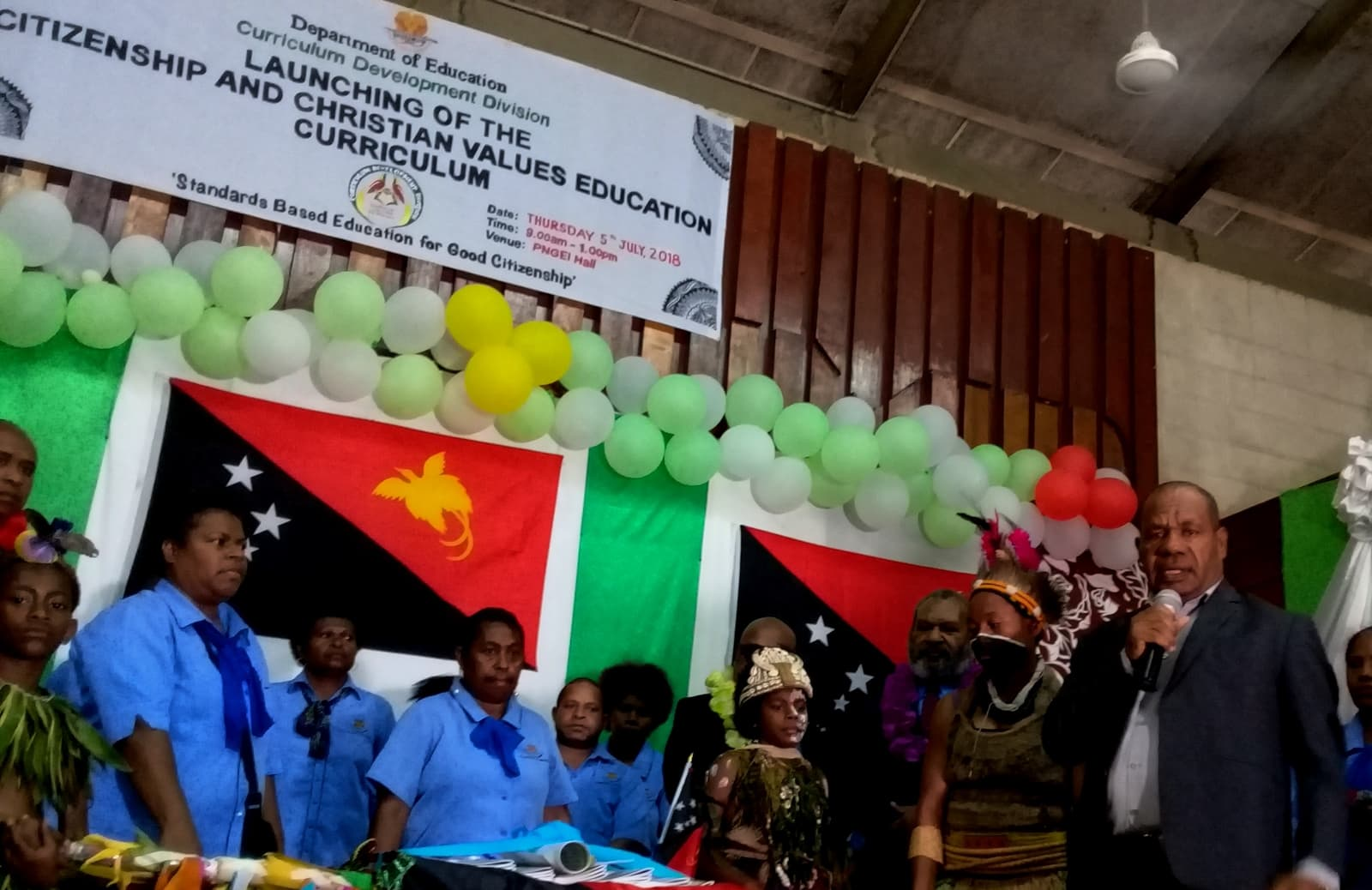 Education Department Launches New >> Png Education Dept Launches Ccve Curriculum Papua New Guinea Today
