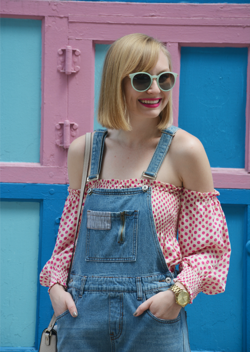 Polka Dots and Overalls | Organized Mess