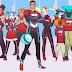 CRISTIANO RONALDO Lançando Desenhos Animados de Super-Heróis com Tema de Futebol