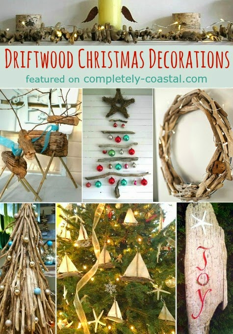 driftwood Christmas trees