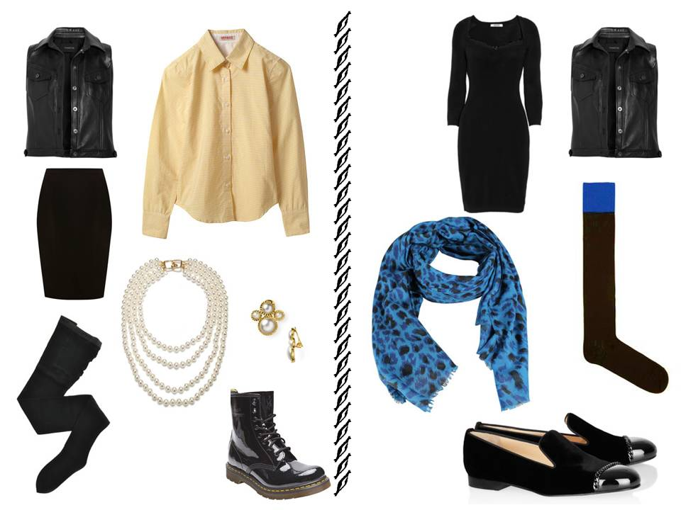 Visualizing French Chic 7 In Black The Vivienne Files