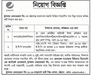 Transcom Beverage Limited Job Circular 2019