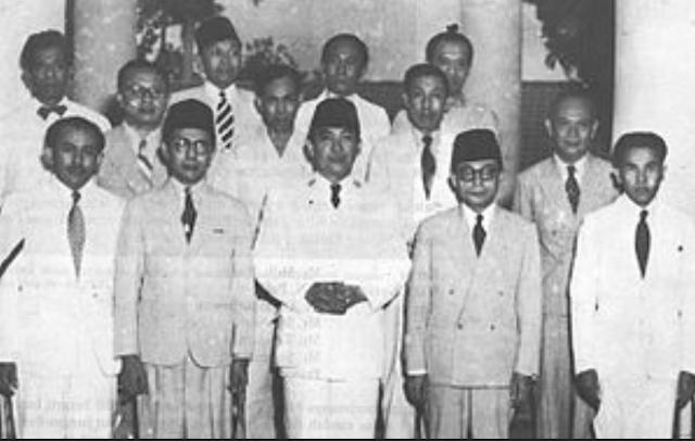 Formasi Kabinet Natsir. Foto: Wikipedia