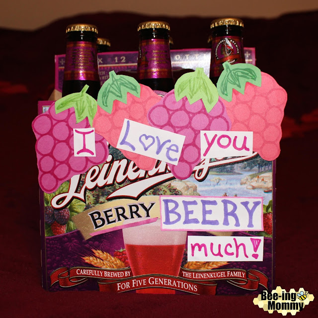 Bee-ing Mommy Blog: Decorative Beer Box Gifts for Him