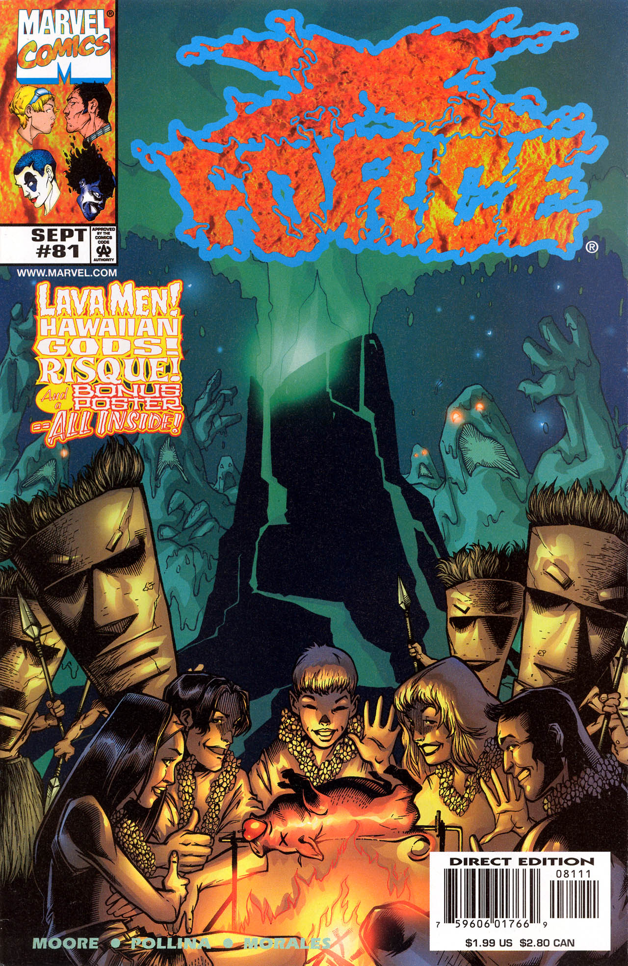Read online X-Force (1991) comic -  Issue #81 - 1