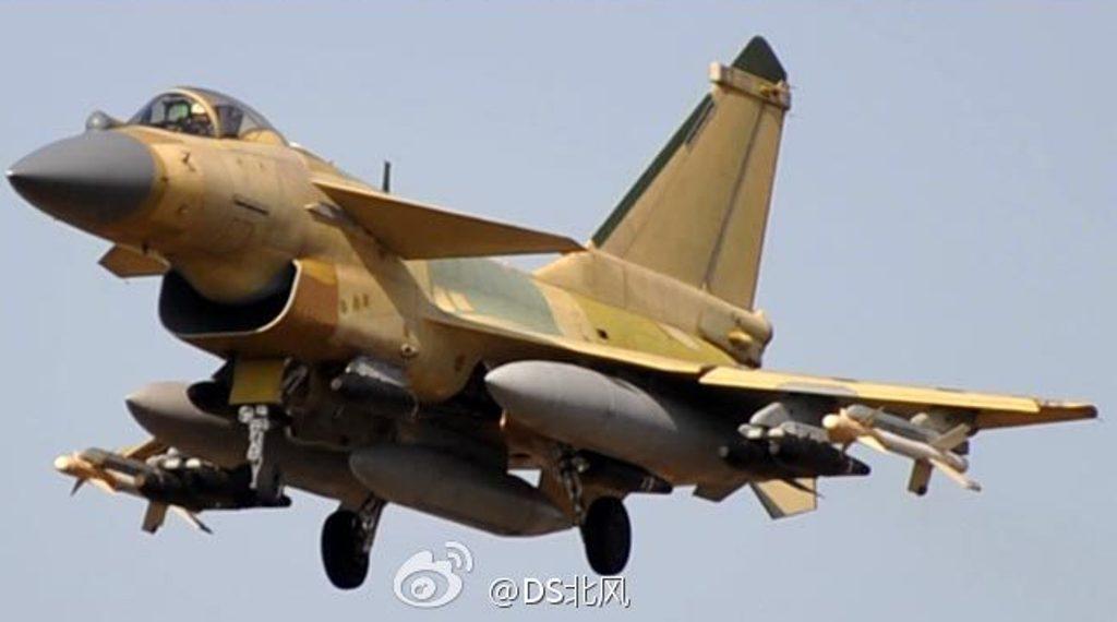Fighter 10 J Chinese Jet Pod
